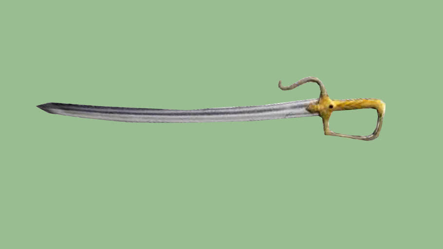 Assassin S Creed Altair S Sword Converted To 3d By Hakan 3d