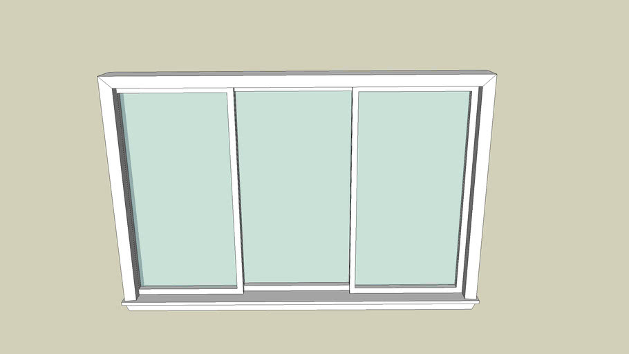 Window triple pane 6'x4'