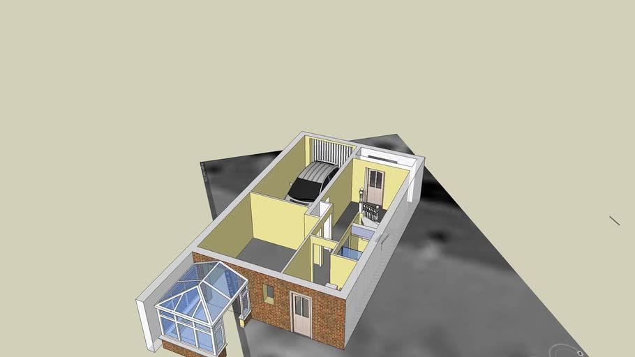 Floor plan of 3 Foster Way, ground floor