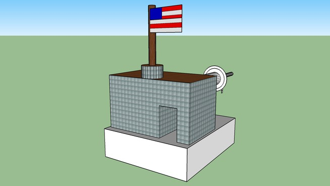 American millitary post