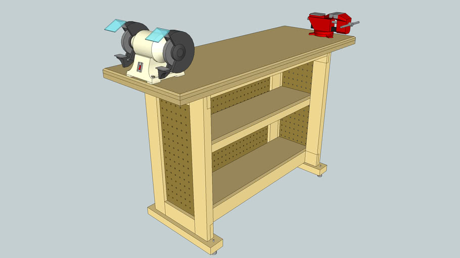 Sturdy Tool Stand / Bench