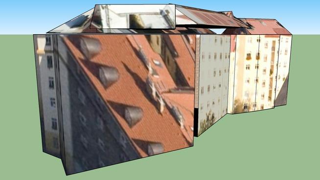 Building in Prague, Czech Republic