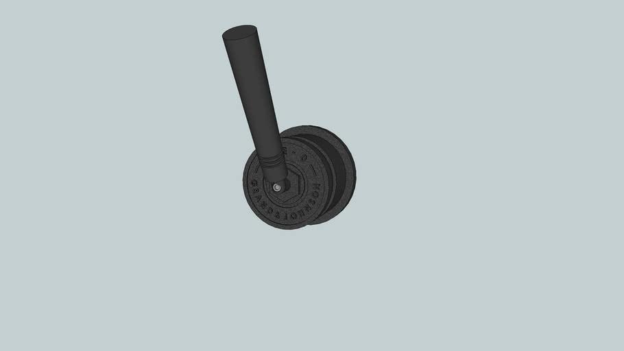 JEE-O soho mixer - hammercoated black matt