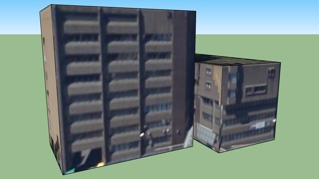Building in Cardiff, UK