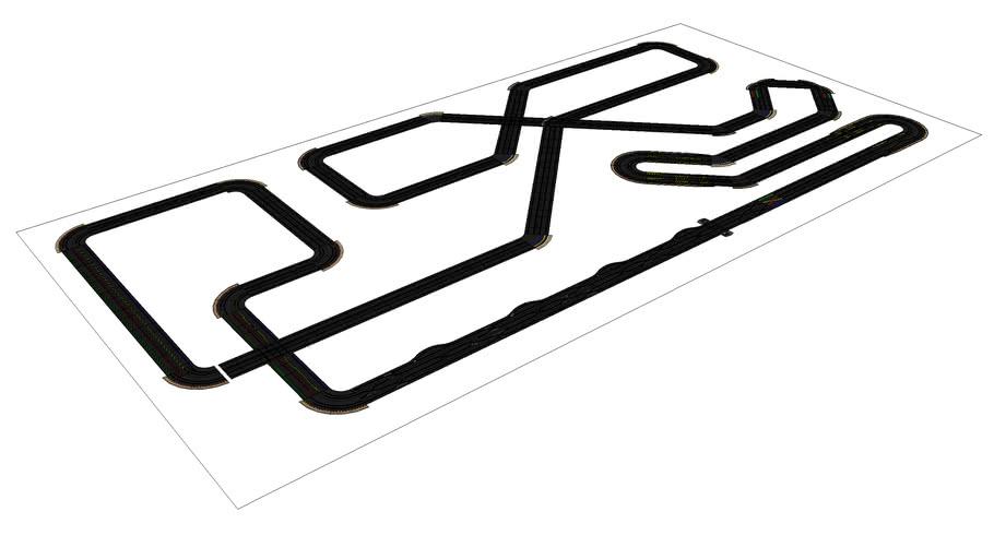 Custom Slot Car Track