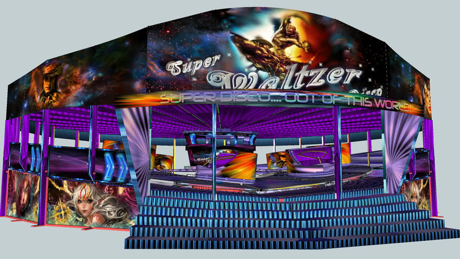"""Super Waltzer Disco"".... Out of This World...."