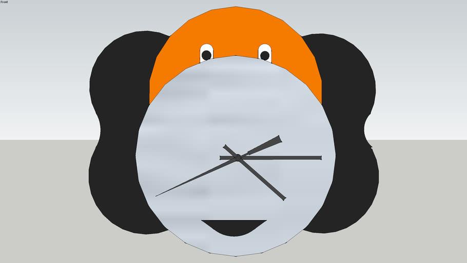 Horloge CD d'Alexis