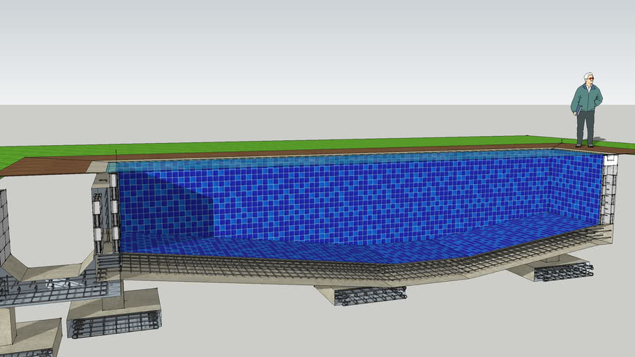 Swimming Pool Cross Section