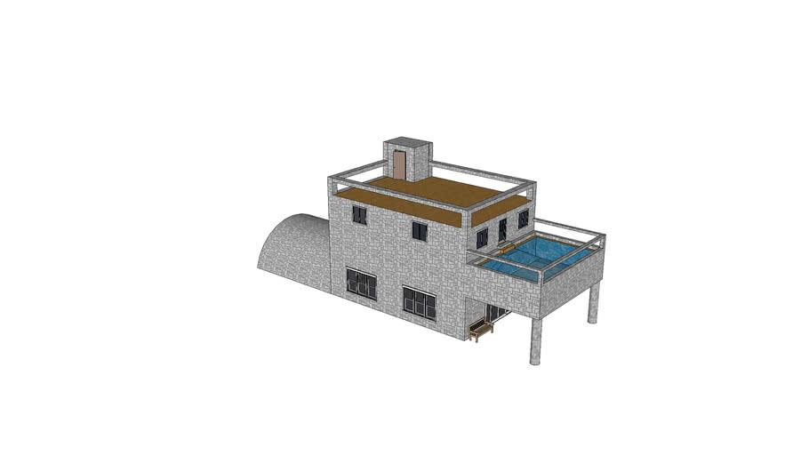 Projet Maison Minecraft 3d Warehouse