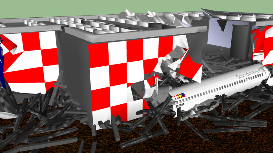 2001 Milan Linate Airport Runway Disaster: SAS Scandinavian Airlines Flight 686