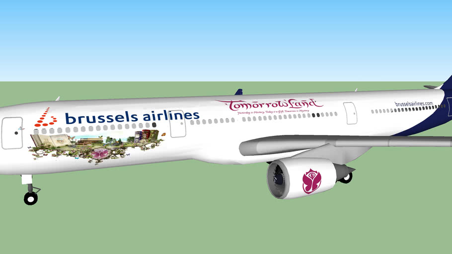 Brussels Airlines Tomorrowland (Airbus A330-300)