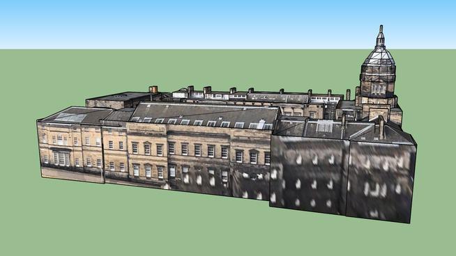 Bâtiment situé Edimbourg EH8 9SU, Royaume Uni