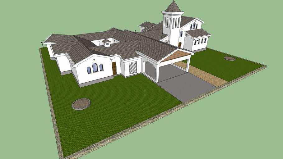Fictive House 3DX4.skp