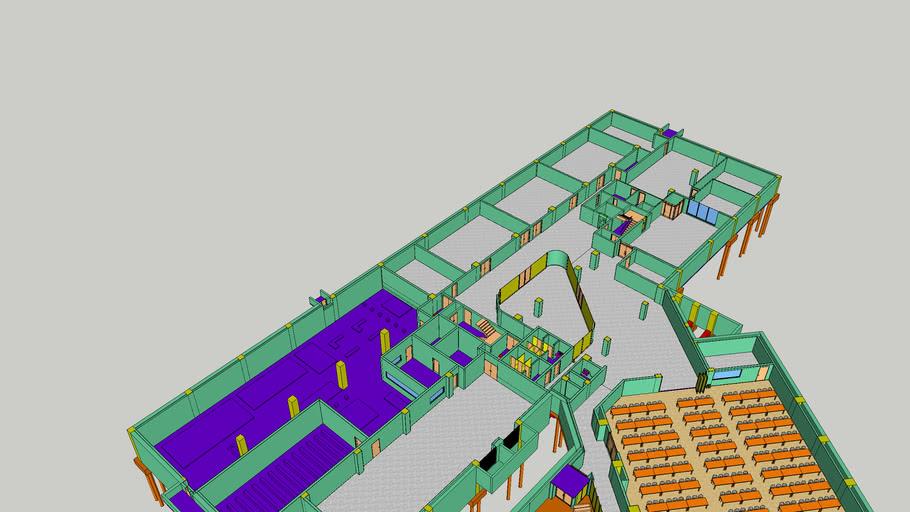 한국건설기술연구원 본관 1동 지하 1층