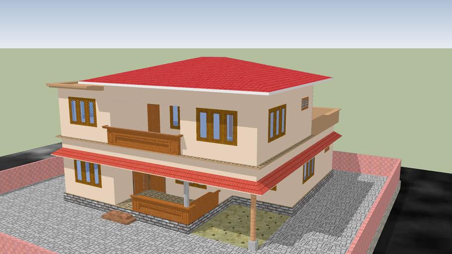 ponneth house, mylampadam
