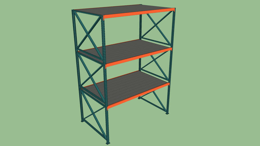 Warehouse Shelving Unit for Products