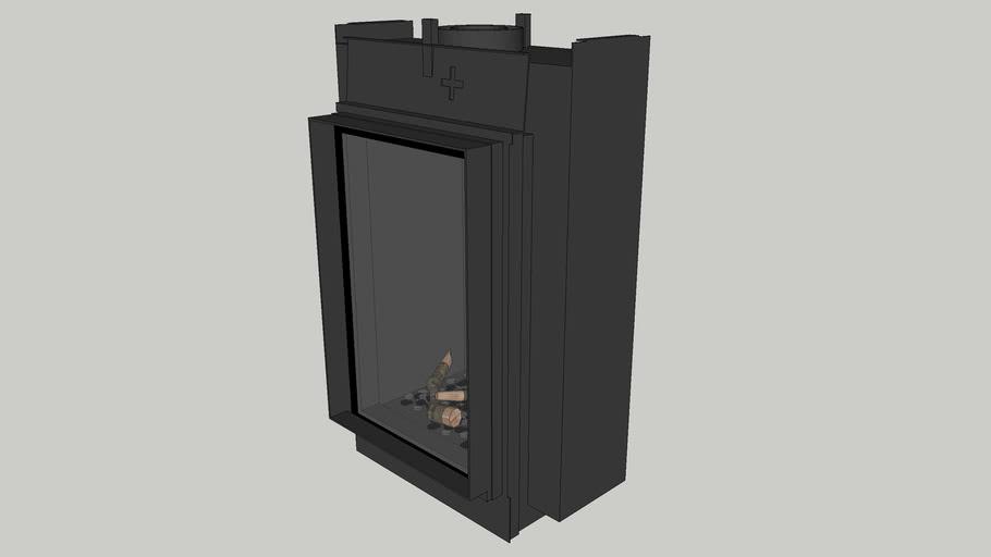 Bellfires Vertical Bell Small-3 Tunnel floating frame - hidden door+ 10 cm