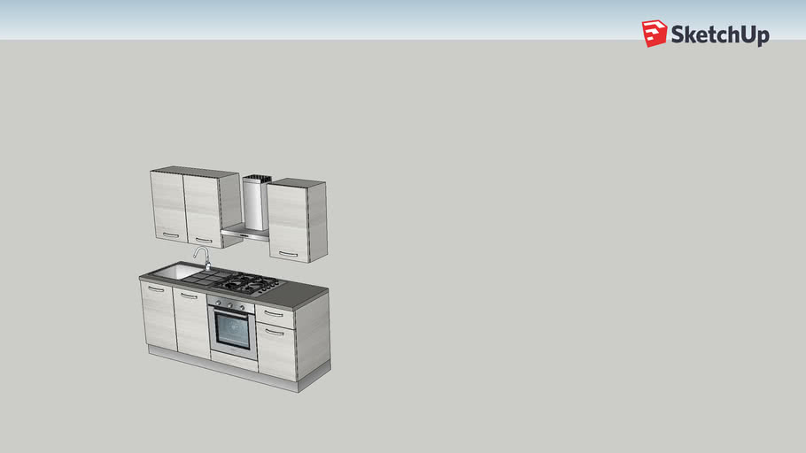 Cucina Athena Mondo Convenienza 3d Warehouse