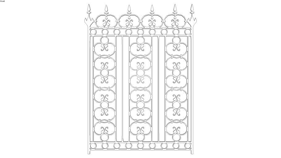 Fence - Iron 3