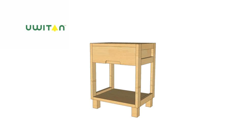 Econo Side Table UWITAN