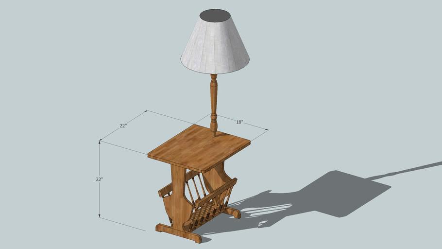 Rosie's Lamp Table