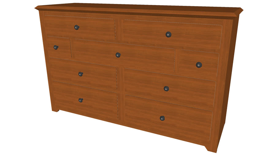 Neo Series Dresser - Detailed