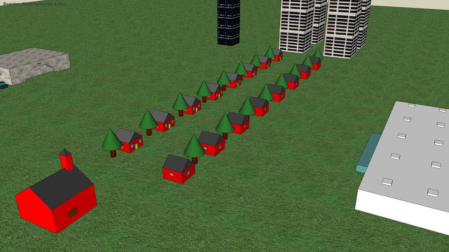 SketchyPhysics Mini-town