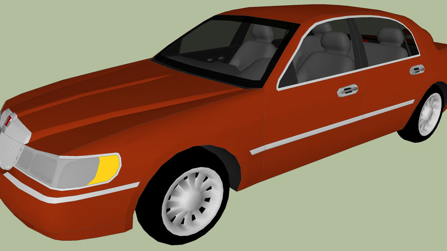 1998 Lincoln Town Car (Phil Leotardo)