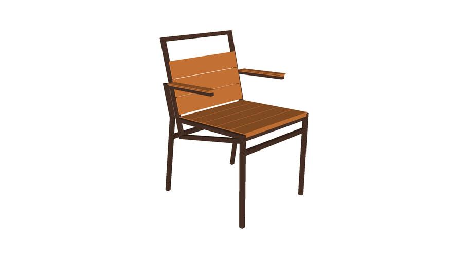 Cadeira Maresia - com braço - Rejane Carvalho Leite