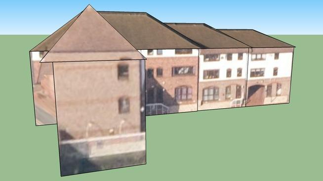 Construção em Birmingham, West Midlands B1 1SB, UK