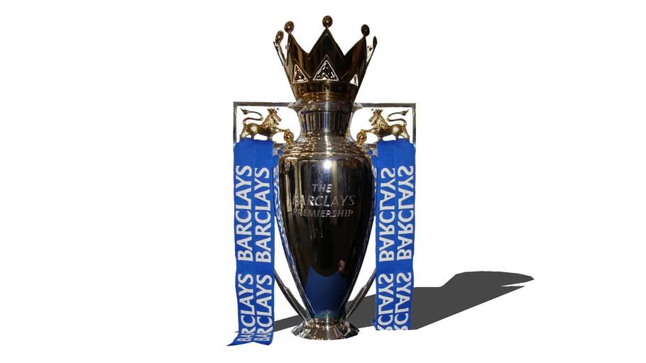 English Premier League Trophy 3d Warehouse