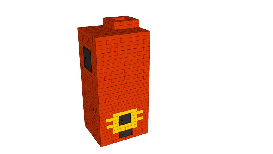 Masonry heater, печь, печка, печник, камин, мангал из кирпича, kachelofen, fireplace, печь для бани, pechnik-pech-kamin.ru