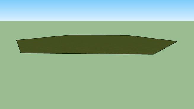 Green Grass 120m Hexagonal