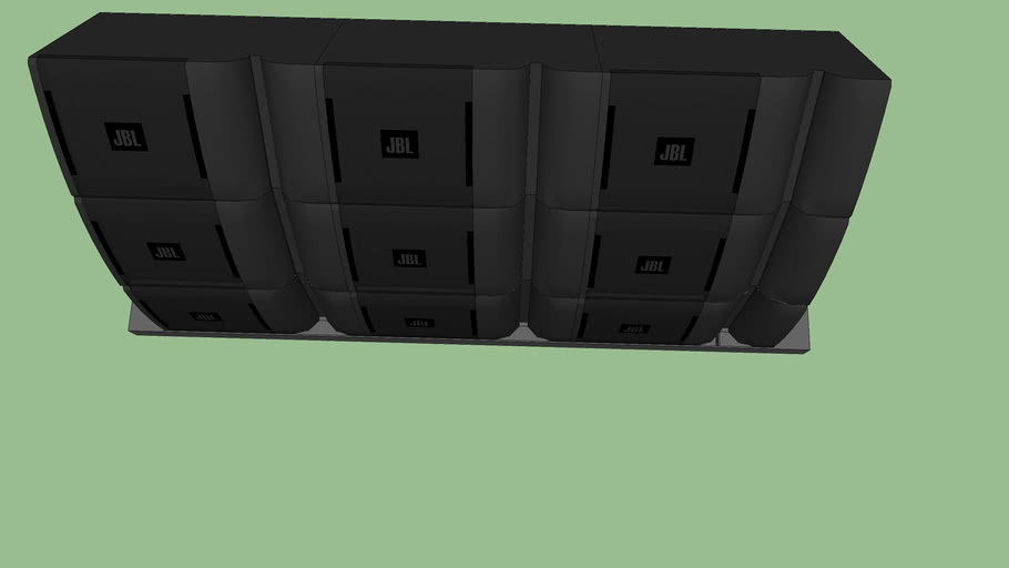 jbl line array tops