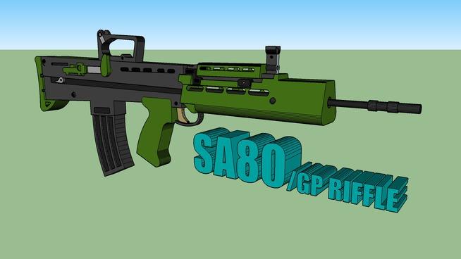 SA80/GP RIFFLE