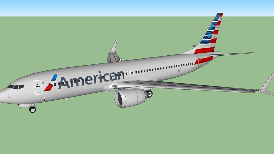American Airlines (2018) - Boeing 737 MAX 8