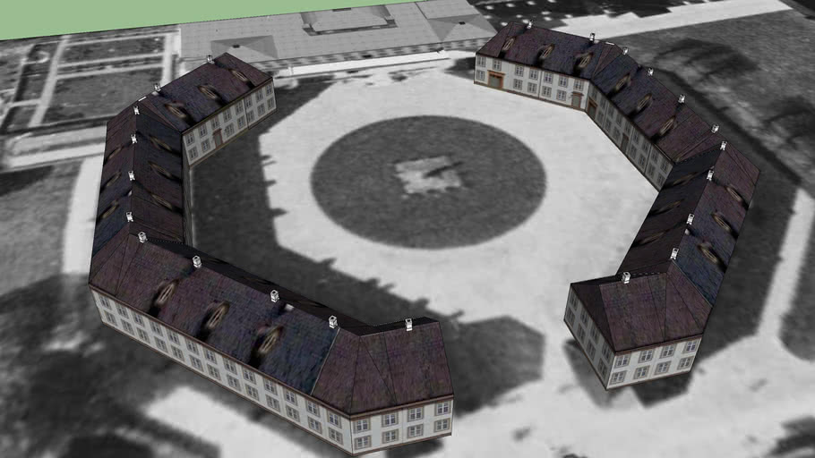 Fredensborg Castle-Courtyard