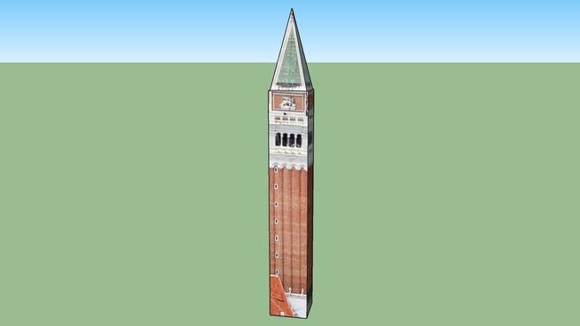 Markusturm Venedig VE, Italien