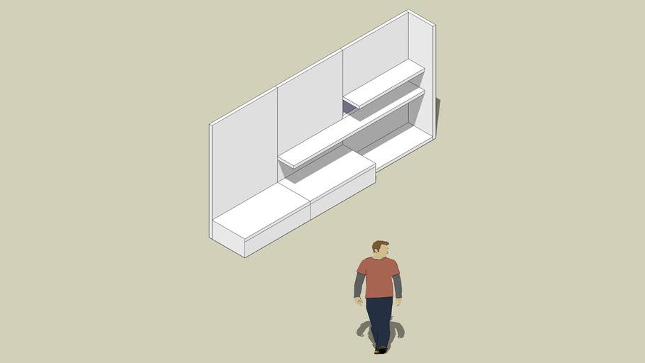 'DUO' Modular Divider Unit by Michael Pasquarella