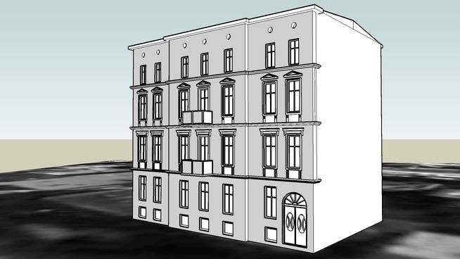 TENEMENT HOUSE ON 52 GDANSKA STREET IN BYDGOSZCZ