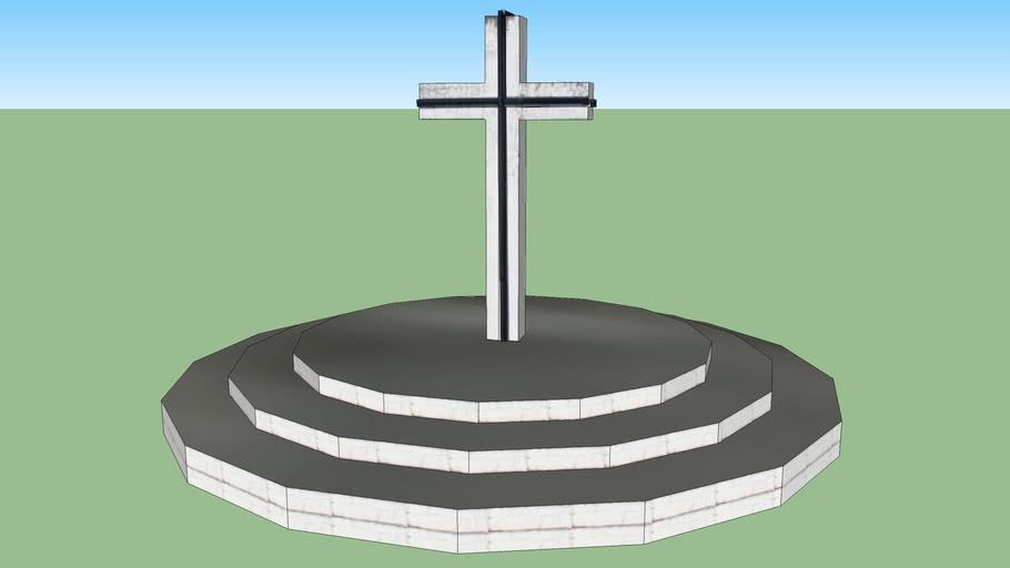 Michalovce mestský cintorín kríž.
