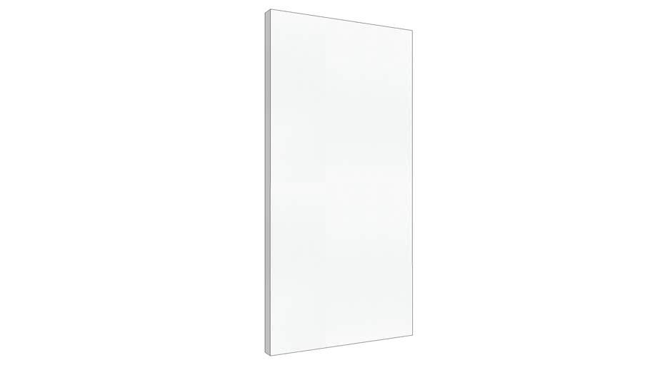 """24""""x48""""x2"""" Square Edge Paintable Acoustic Panel"""