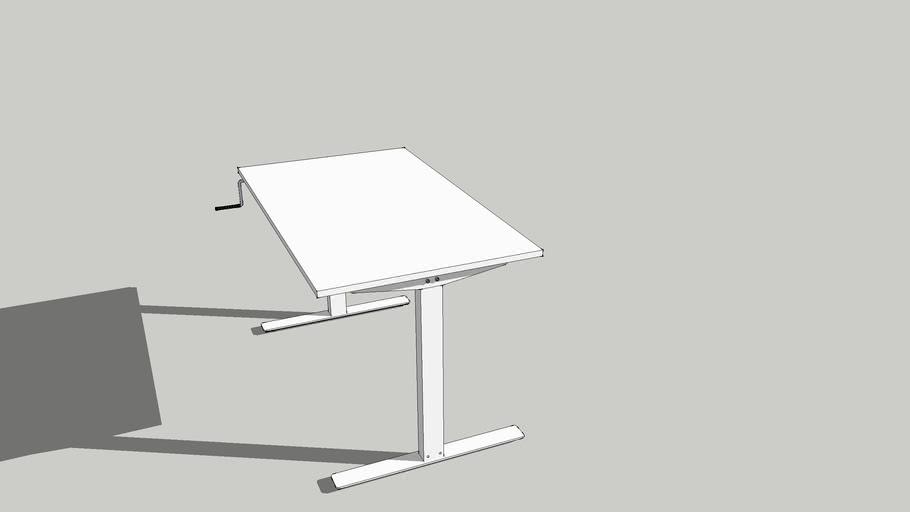 Ikea Skarsta Desk 3d Warehouse