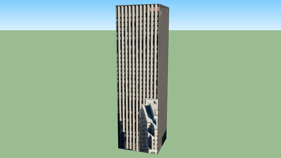多伦多, ON M5H 2T6, 加拿大的建筑模型