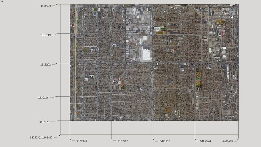 South Los Angeles Grid Reference