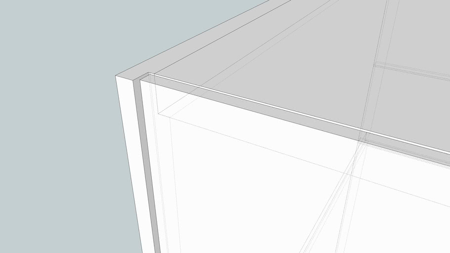 Cube-like cabinet
