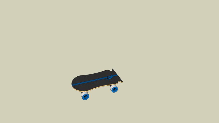 Old School Skateboard