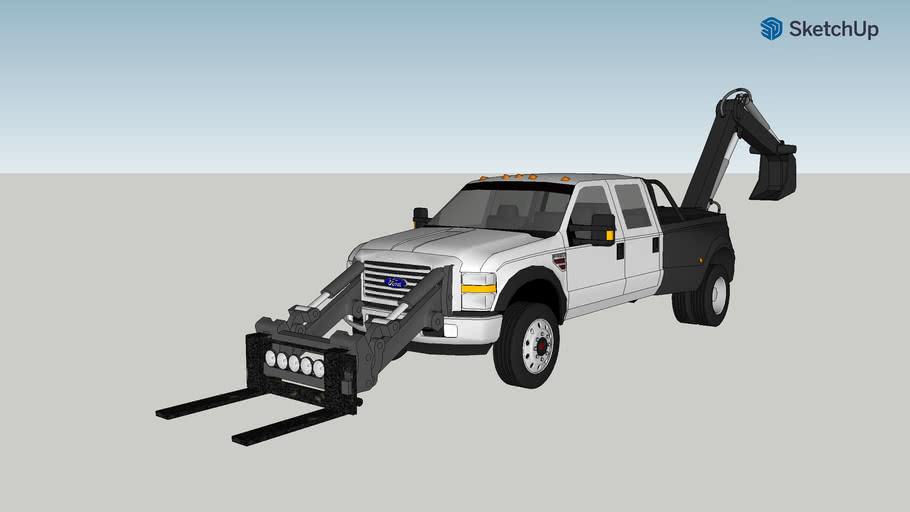 ford f-150 dully backhoe