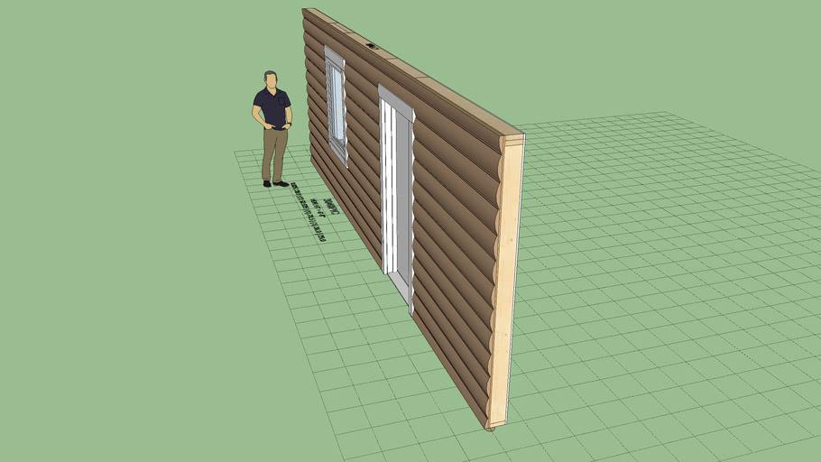 Log Wall Siding