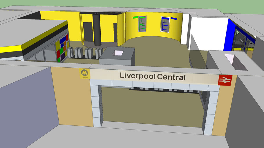 Liverpool Central Refurbed Concourse
